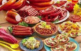 لاشه های خراب گوشت هندی در غذاهای آماده