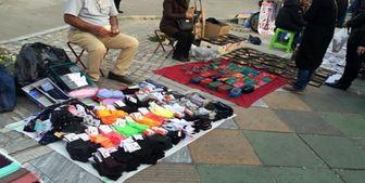 ممنوعیت فعالیت دستفروشان در شهرهای قرمز و نارنجی