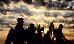 تصاویری از لحظات ناب پیاده روی اربعین
