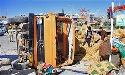 برخورد مرگبار کامیون با مینیبوس مسافری