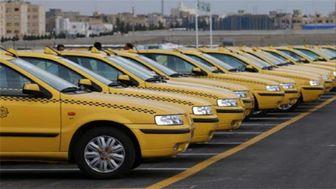 نحوه تردد تاکسیها با توجه به اعمال محدودیتهای کرونایی