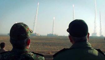 موشکها و پهپادهای انتحاری سپاه حریف میطلبند + تصاویر
