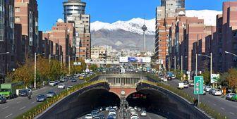 کیفیت هوای تهران در 4 فروردین