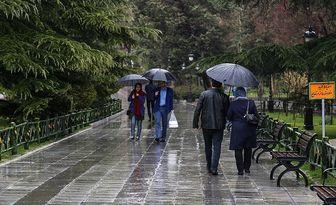 بارش ها در برخی مناطق شدیدتر می شود