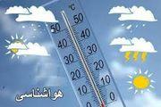آسمان تهران یکشنبه بارانی است