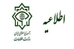 وزارت اطلاعات انتصاب افراد دو تابعیتی را تکذیب کرد