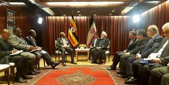 دیدار نخست وزیر اوگاندا با رئیس جمهور