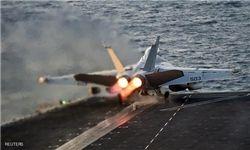 سقوط یک فروند اف - ۱۸ آمریکا در خلیجفارس