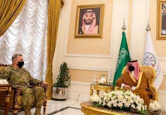 وزیر دفاع عربستان میزبان رئیس ستاد مشترک ارتش آمریکا شد