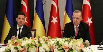 رایزنی رؤسای جمهور ترکیه و اوکراین در مورد تحولات منطقه