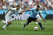 اروگوئه صفر- فرانسه 2؛ صعود بیدردسر به نیمه نهایی