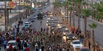 تجمع لبنانیها در «صور» در اعتراض به مداخلات آمریکا