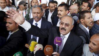 انتقال خانواده عبدالله صالح به امارات