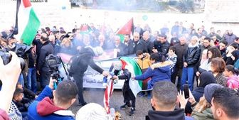 صهیونیستها دهها معترض فلسطینی در کرانه باختری را مجروح کردند