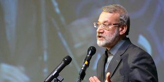 لاریجانی خطاب به کارکنان وزارت اطلاعات: به رفتارشناسی داعش و منافقین حساس باشید