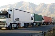 تسهیل خروج کامیونها و محمولهها برای راهپیمایی اربعین