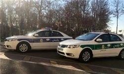 خودروهای جدید پلیس تهران
