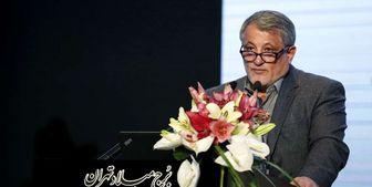 بازدید رئیس و دو عضو شورای شهر تهران از تونل فاضلاب غرب تهران