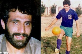 فوتبالیستی که فرمانده جنگ شد + عکس