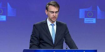 درخواست سخنگوی کمیسیون اتحادیه اروپا از اسرائیل