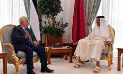 در دیدار محمود عباس و امیر قطر چه گذشت؟