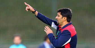 اظهارات حسینی پس از برتری سه بر یک تیمش مقابل شهرخودرو