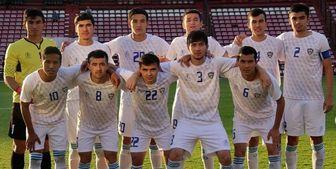 ترکیب ازبکستان مقابل تیم ملی امید ایران