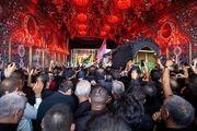 تشییع پیکر آیتالله «محمد سعید حکیم» در کربلا/گزارش تصویری