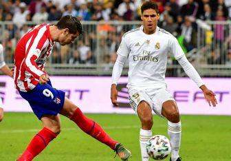 رئال مادیرد قهرمان سوپر جام اسپانیا شد