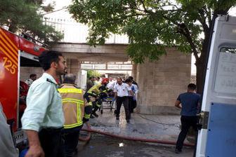 آتش سوزی یک واحدمسکونی در قزوین 15 مجروح به جای گذاشت