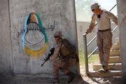رزمایش مشترک سربازان آمریکایی و اسرائیلی در اردوگاه جنجالی