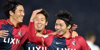استراحت بازیکنان اصلی کاشیما قبل از بازی با پرسپولیس