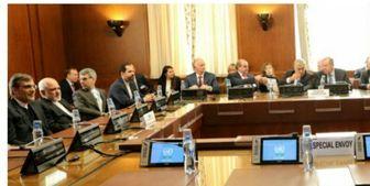 نشست ظریف، لاوروف، چاووش اوغلو و دیمیستورا در ژنو