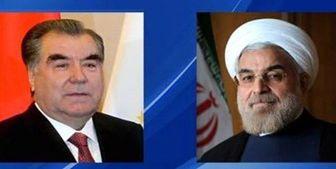 پیام تبریک رئیس جمهور تاجیکستان به «روحانی»