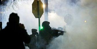 خشونت در چند شهر آمریکا پس از تحلیف بایدن+ تصاویر