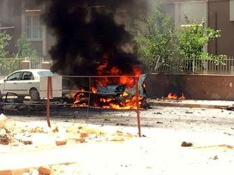 انفجار در مرز سوریه و ترکیه+ عکس