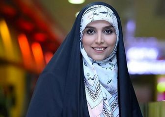 پیام تبریک خانم مجری /عکس