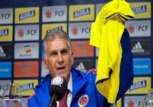 تساوی کلمبیا با کیروش در بازی دوستانه