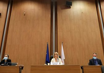 انتخاب اولین رئیس زن پارلمان در این کشور+عکس