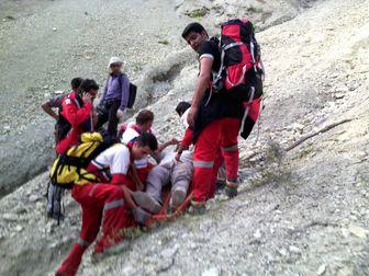 تلاش 3 ساعته برای نجات جان مرد 33 ساله+ تصاویر