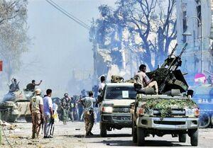 آغاز مانور نظامی مصر در نزدیکی مرزهای لیبی