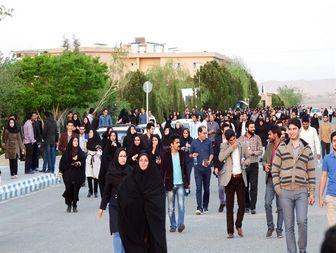 آزمون استخدامی در بیرجند شبیه به راهپیمایی 22 بهمن!