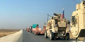 غارت نفت سوریه در روز روشن توسط آمریکا