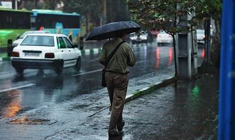 تداوم بارشها در ۱۱ استان کشور در 2 روز آینده