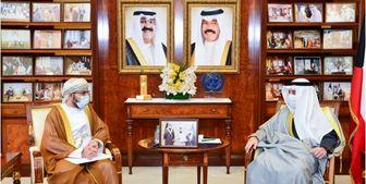 ارسال پیام مکتوب سلطان عمان به امیر کویت