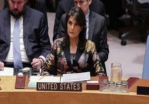 نیکی هیلی از احتمال استفاده از گزینه نظامی در سوریه سخن گفت