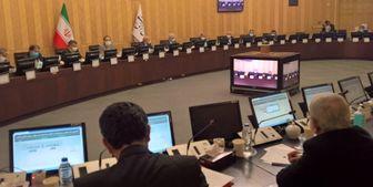 جلسۀ بررسی مسائل نظام سلامت کشور با حضور قالیباف