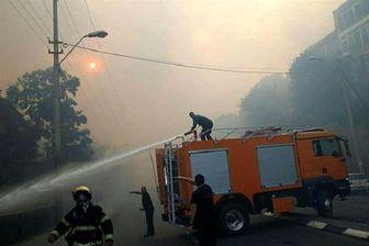 انفجار در یکی از پالایشگاه های نفت حیفا