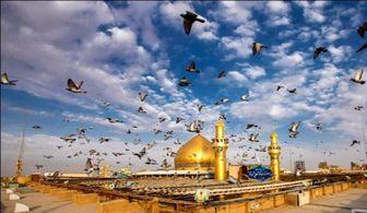 تصویری قدیمی و دیده نشده از حرم امیر المؤمنین علی(ع)