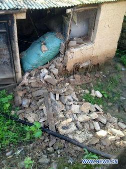 کشته و مجروح شدن دستکم ۲۴۷ نفر بر اثر وقوع زمینلرزه در چین